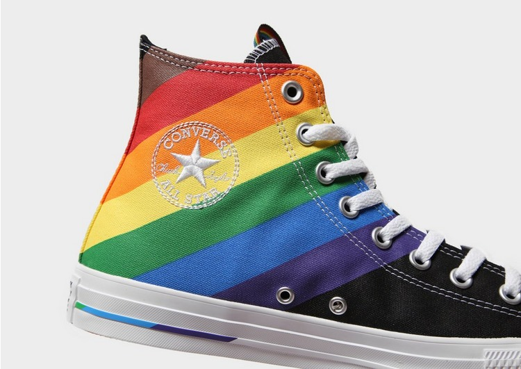 Converse Baskets All Star High Pride Homme