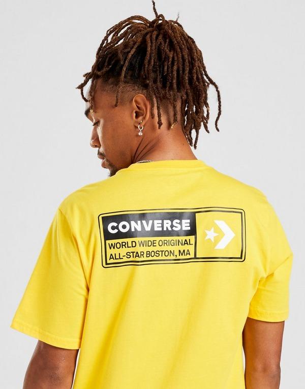 Converse camiseta Large Back Box