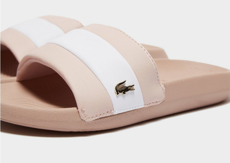Lacoste Croco Slides Women's