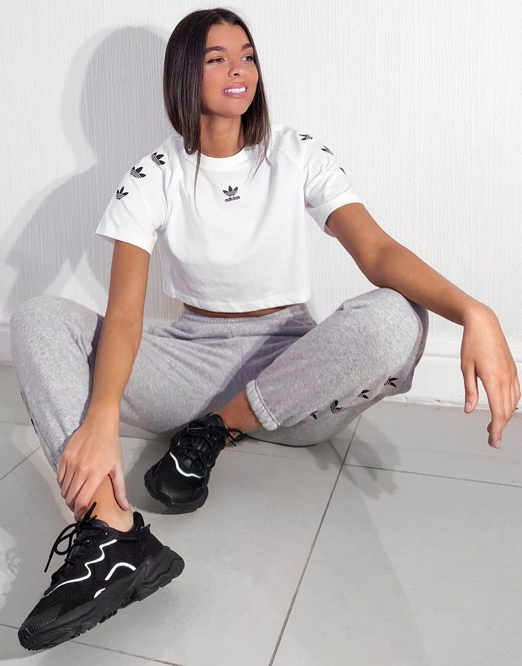 adidas Originals Repeat Trefoil Crop T-Shirt Women's