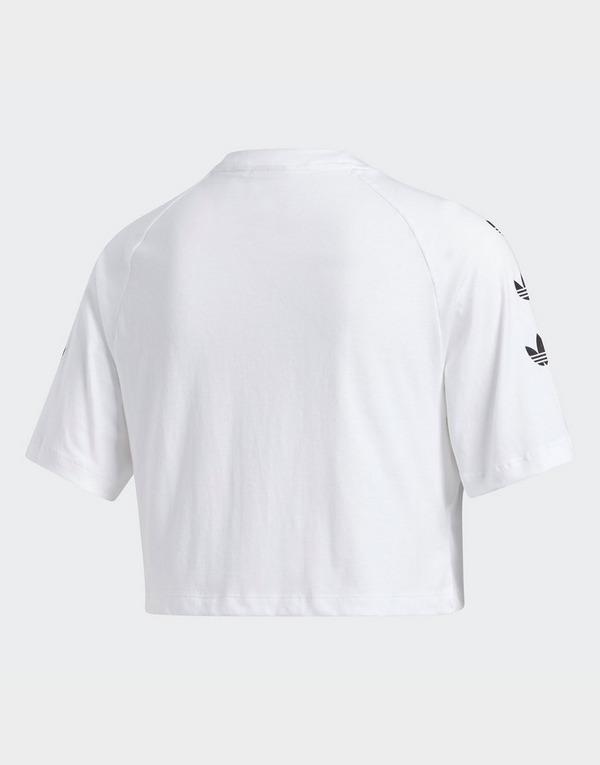 adidas Originals camiseta Repeat Trefoil Crop