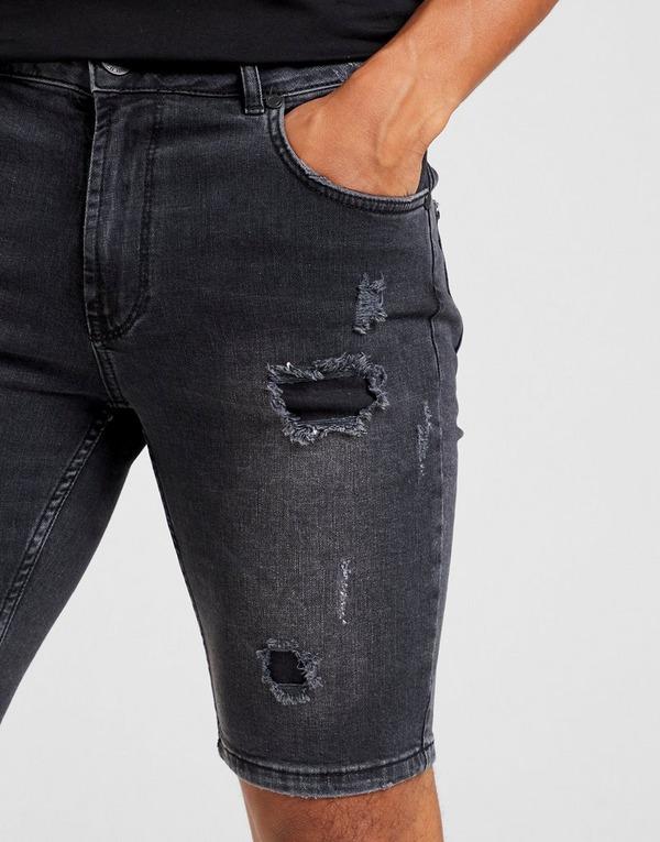 Supply & Demand pantalón corto Bark Denim