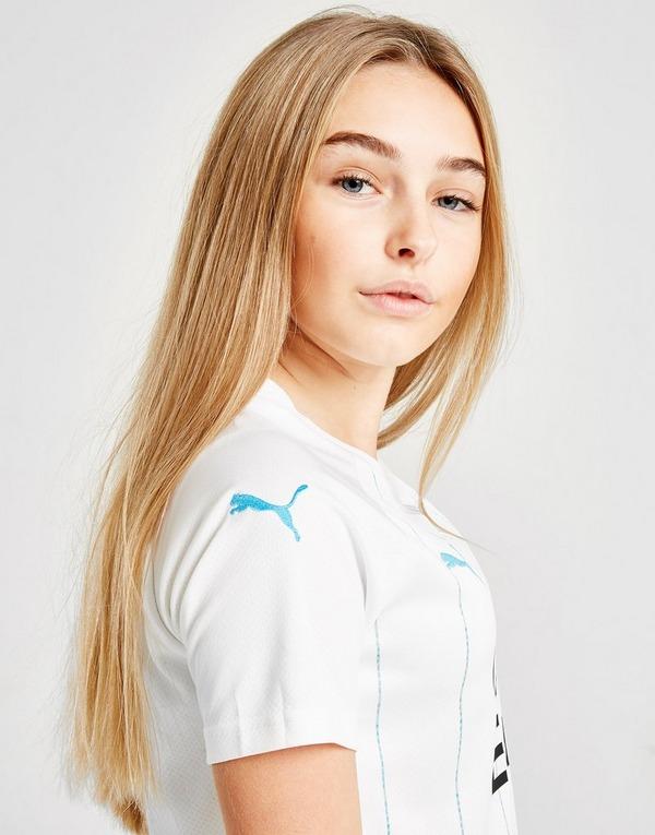PUMA Olympique Marseille 2019/20 Home Shirt Junior