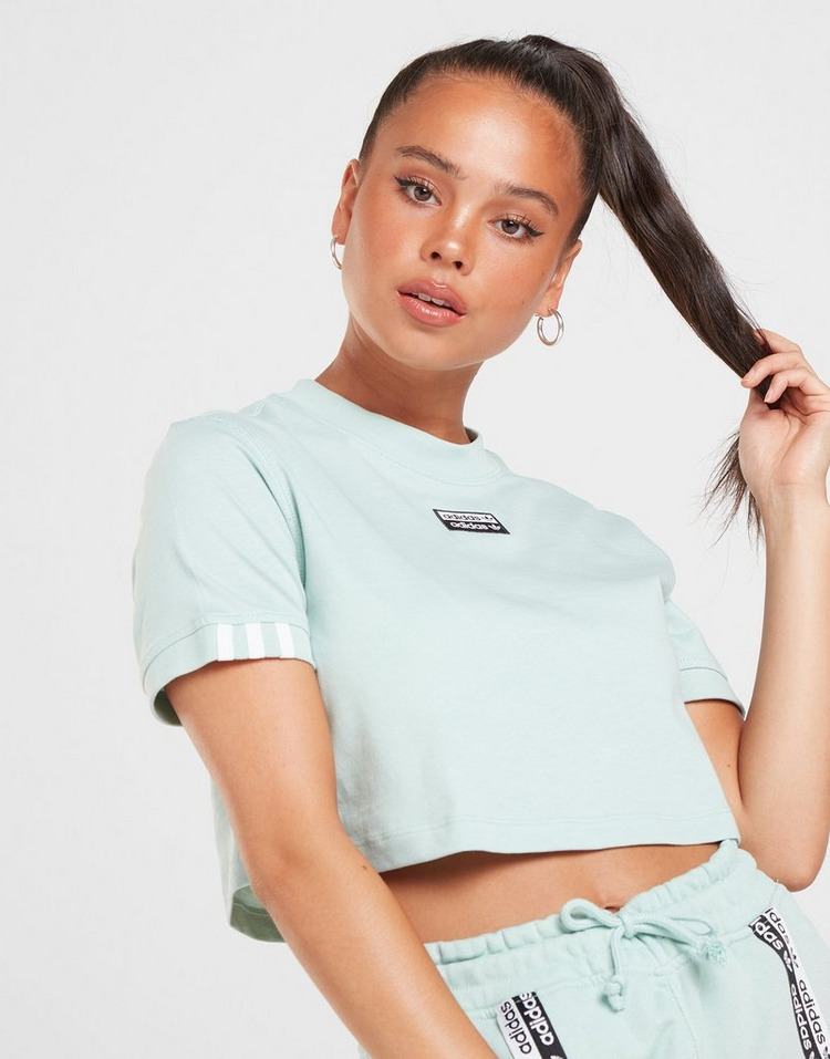 Acheter adidas Originals T shirt R.Y.V Crop Femme | JD Sports