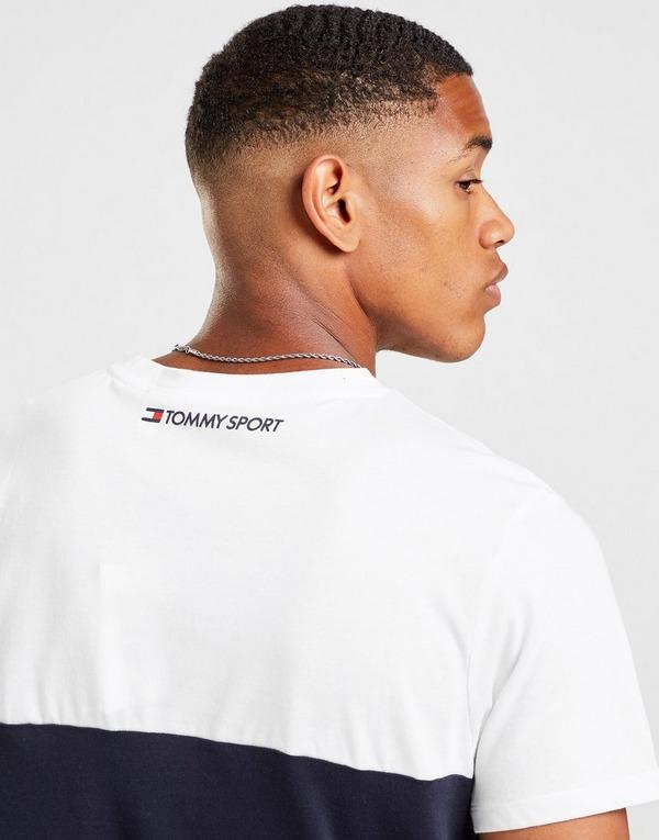 Tommy Hilfiger Colour Block Stripe T-Shirt