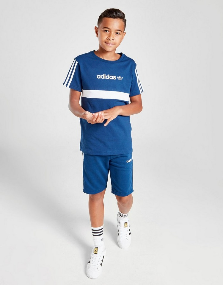adidas Originals Challenger Colour Block T-Shirt Junior