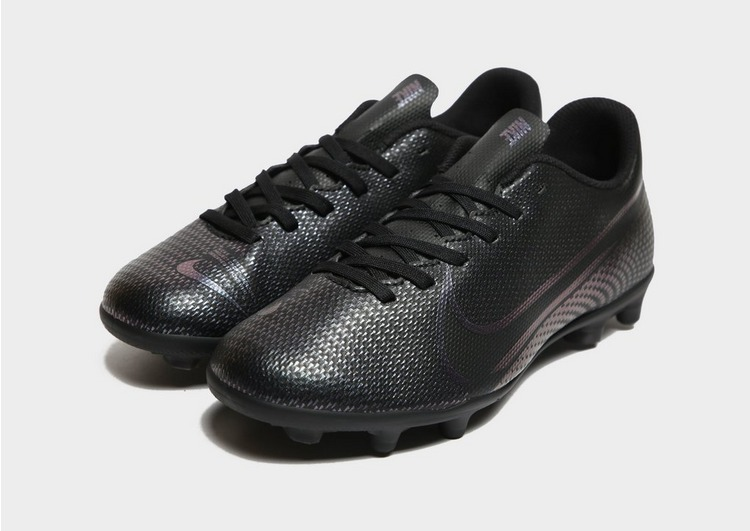 Nike Kinetic Black Mercurial Vapor Club FG Children