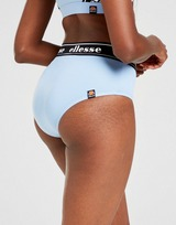 Ellesse Mesh Tape High Waisted Bikini Bottoms Women's