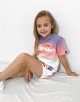 Ellesse Girls' Azuro T-Shirt/Shorts Set Children