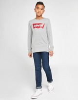 Levis Long Sleeve Batwing T-Shirt Junior