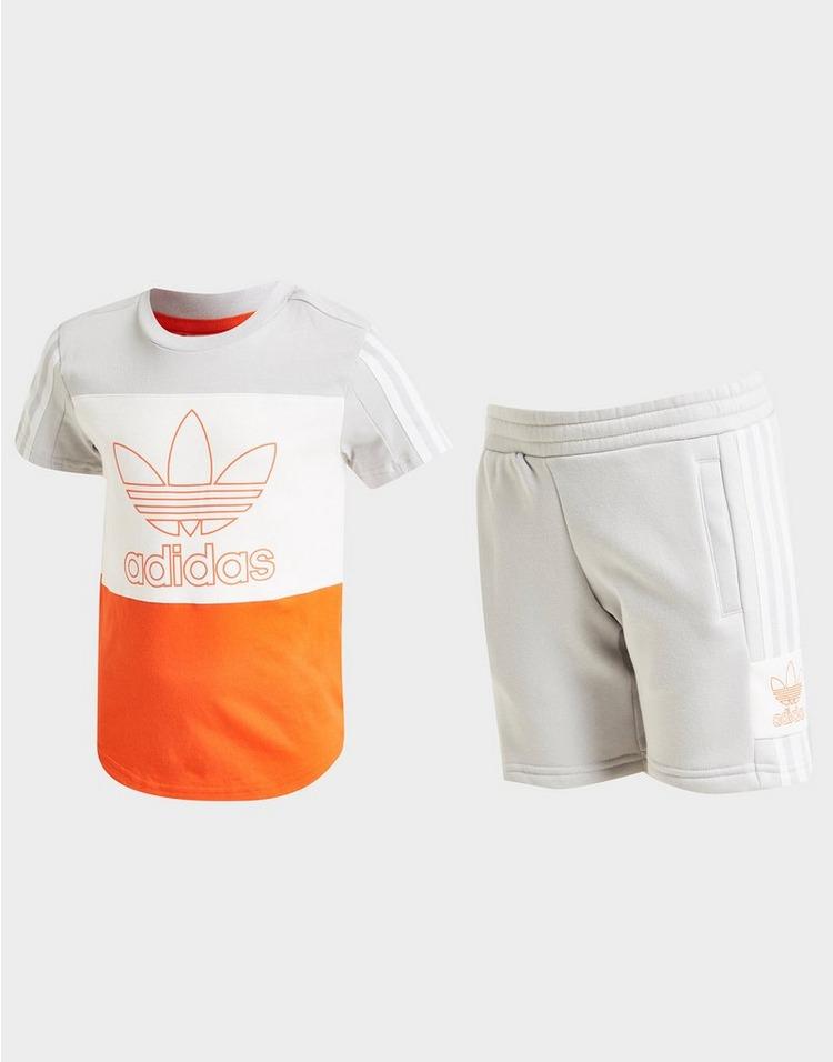 adidas Originals conjunto Sport camiseta/pantalón corto infantil