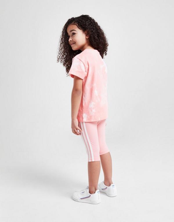 Acherter Rose adidas Originals Ensemble Fille Tie Dye T