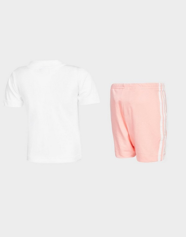 adidas Originals Girls' T-Shirt/Cycle Shorts Set Infant