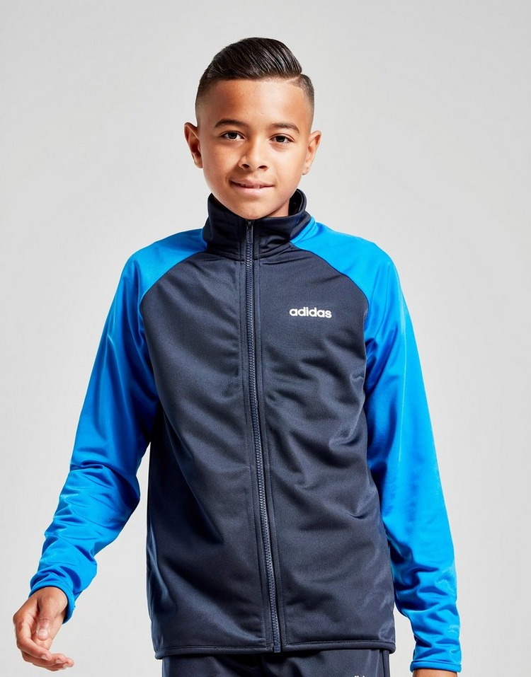 adidas Core Colour Block Performance Tracksuit Junior
