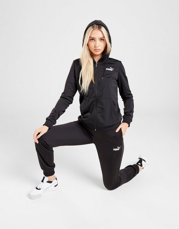 Koop Zwart PUMA Core Poly Trainingspak Dames | JD Sports