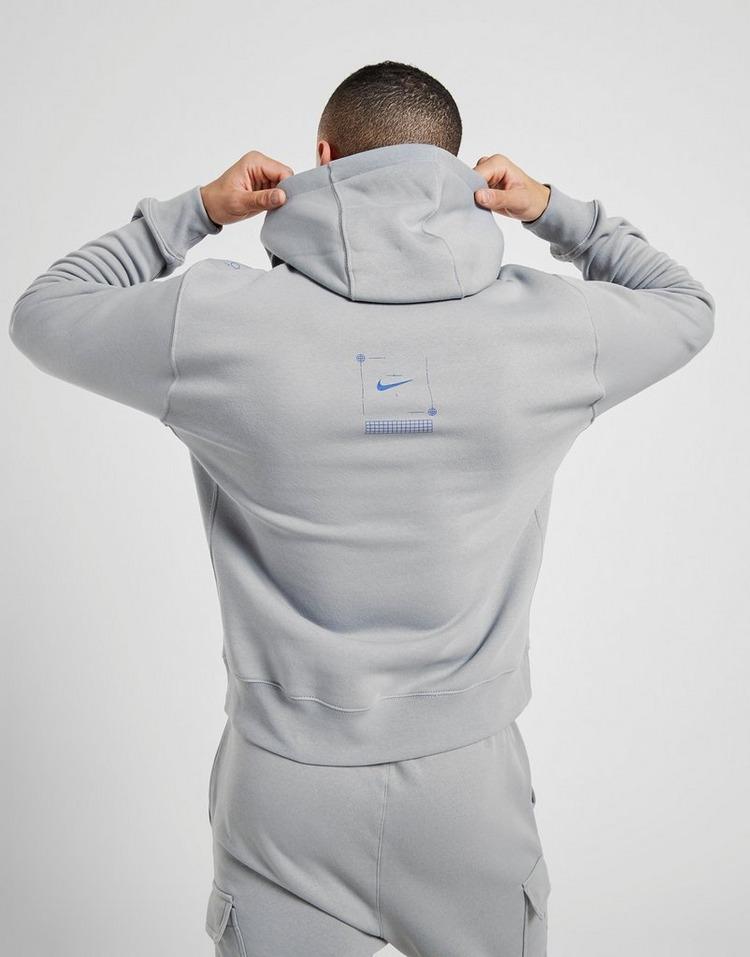 Nike T100 Grid Overhead Hoodie Heren