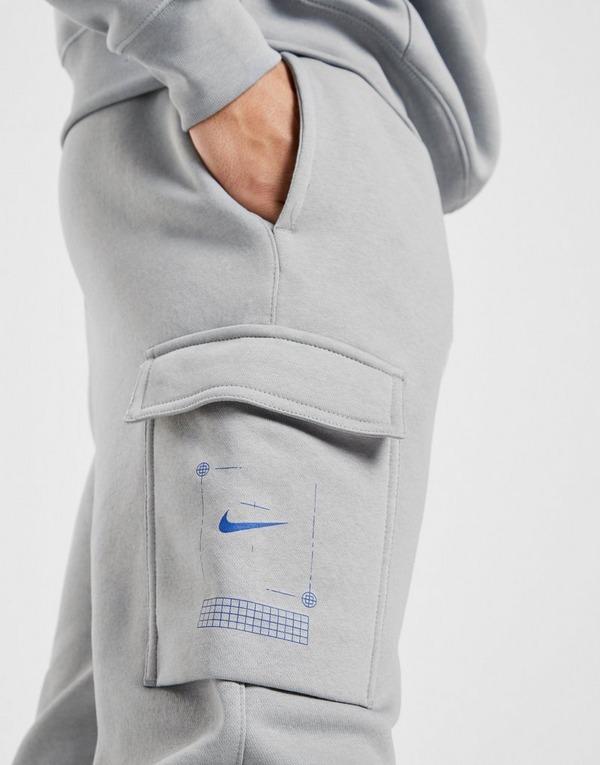 Køb Nike T100 Grid Cargobukser Herre i Grå | JD Sports