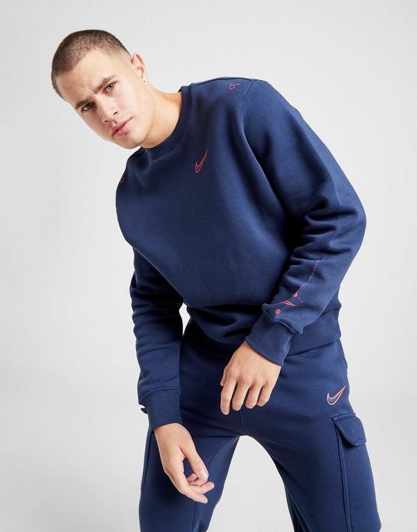 Acquista Nike Grid Felpa in Bianco | JD Sports
