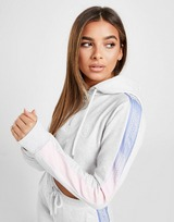 SikSilk Panel Fade 1/4 Zip Crop Hoodie