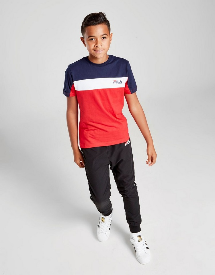 Fila Axel Colour Block T-Shirt Junior