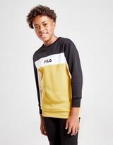 Fila Temi Colour Block Crew Sweatshirt Junior
