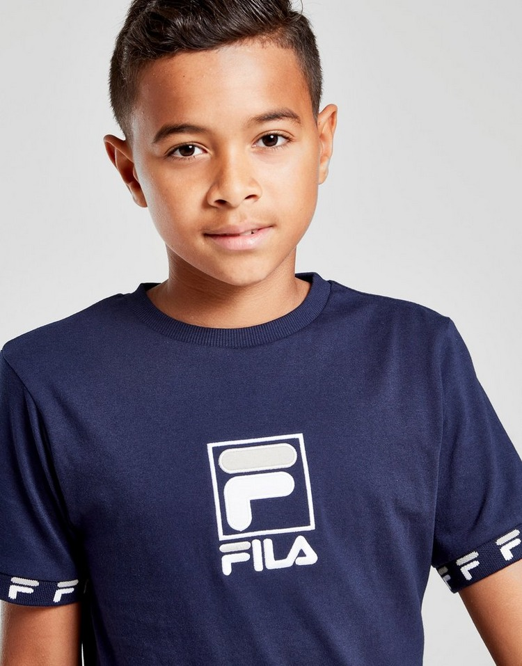 Fila Jayden Tape T-Shirt Junior