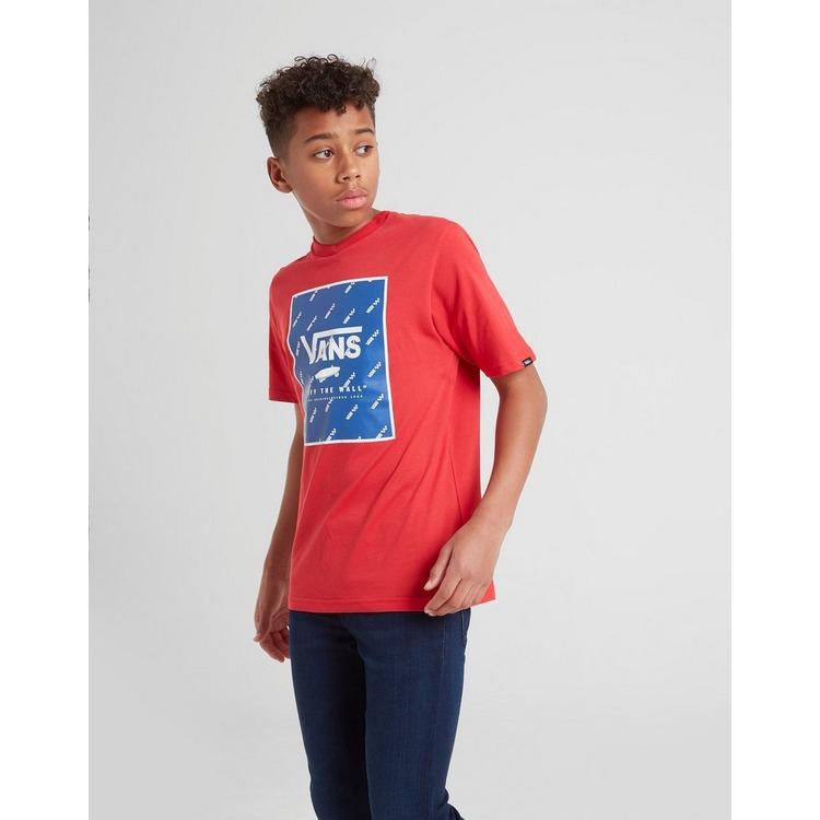 Vans All Over Print Box Logo T-Shirt Junior