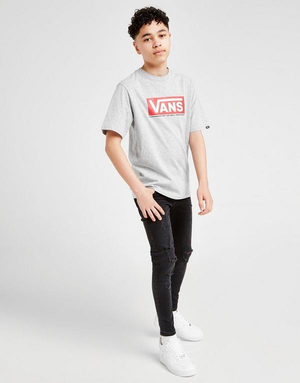 Vans Red Box Short Sleeve T-Shirt Junior