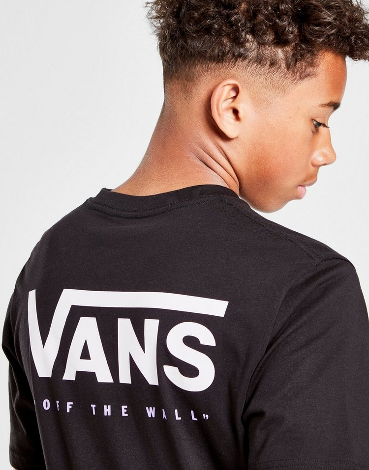 Vans Off the Wall Logo T-Shirt Junior
