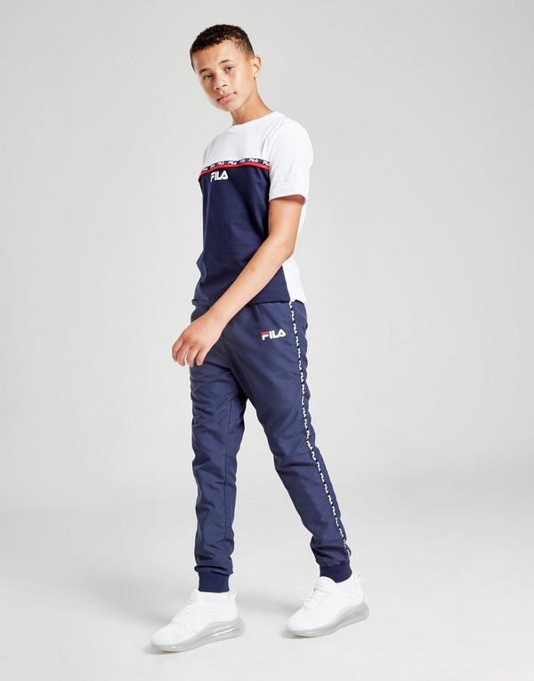 Fila Drako Woven Tape Track Pants Junior
