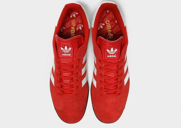 adidas gazelle heren rood