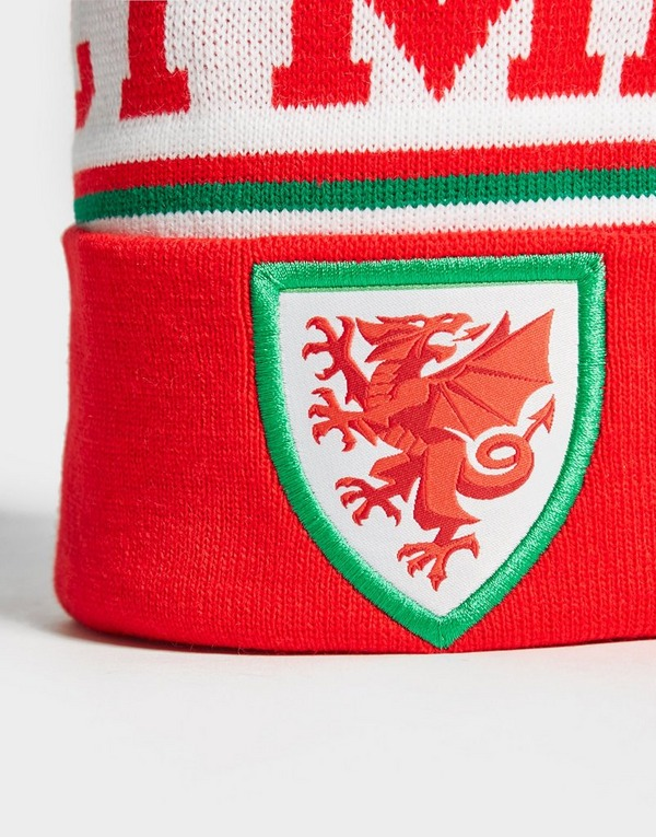 Official Team Wales FA Bobble Hat