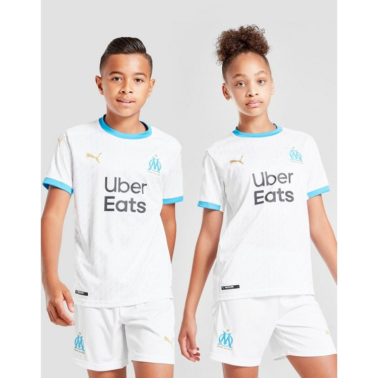 PUMA Olympique Marseille 2020/21 Home Shirt Junior