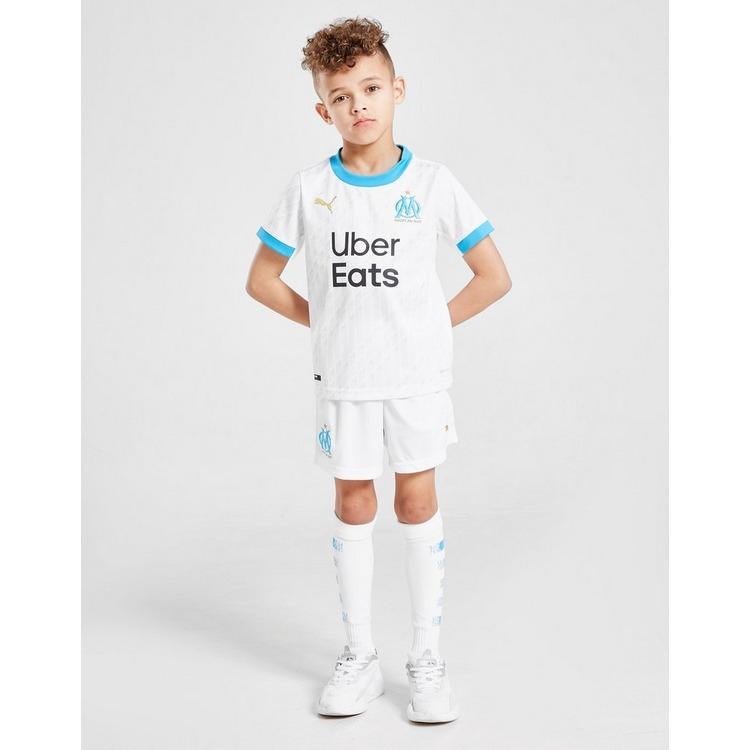 PUMA Olympique Marseille 2020/21 Home Kit Children