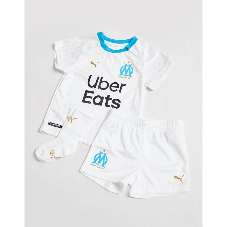 PUMA Olympique Marseille 2020/21 Home Kit Infant