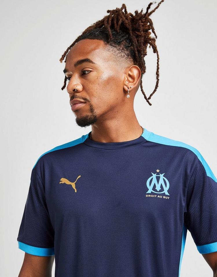 Puma Olympique Marseille Short Sleeve Training Shirt