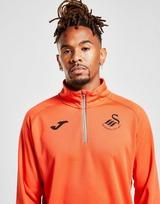 Joma Swansea City FC Train 1/4 Zip Top