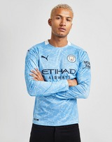Puma Manchester City FC 2020/21 Long Sleeve Home Shirt