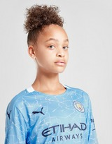 Puma Manchester City 20/21 Long Sleeve Home Shirt Jnr