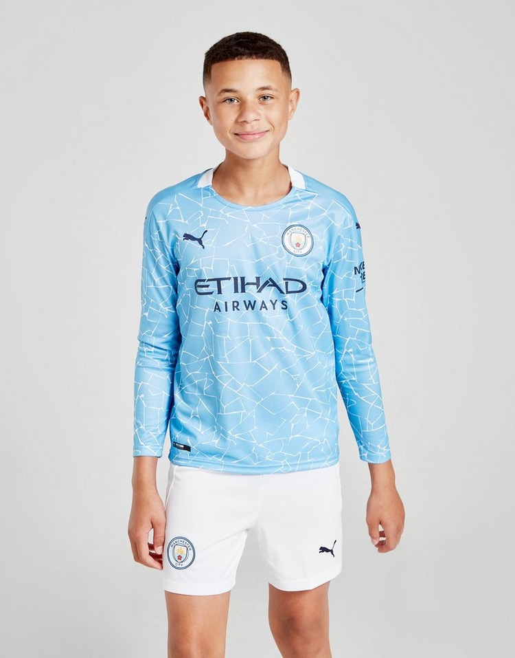 PUMA Manchester City FC 2020/21 Home Shorts Junior
