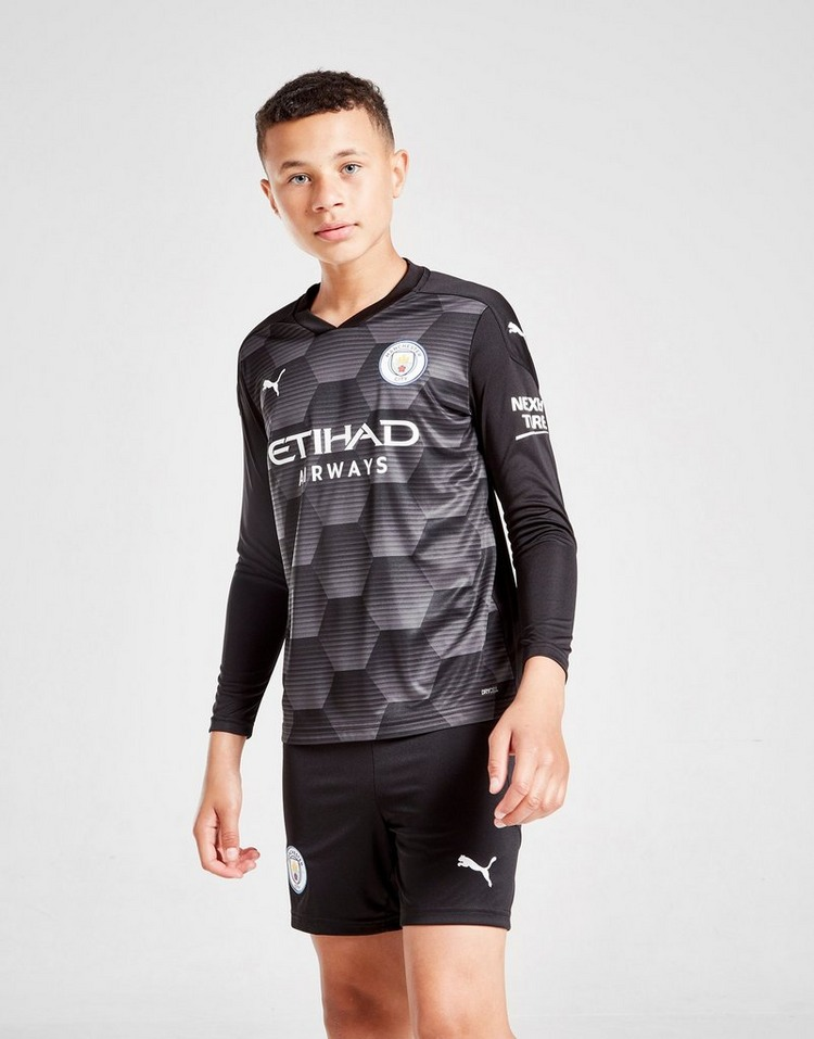 Puma     Manchester City 20/21 Home Goalkeeper Shorts Jnr