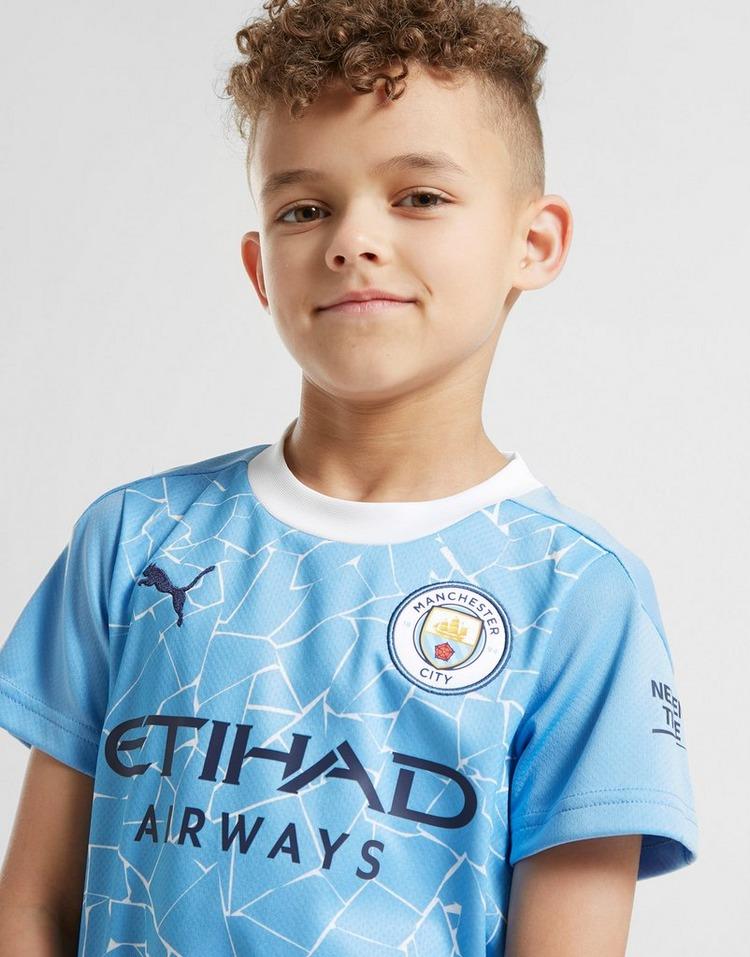 Puma Manchester City FC 2020/21 Home Kit Children