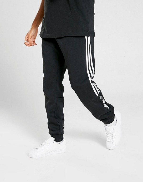 Koop Zwart adidas Originals ZX Fleece Joggingbroek Heren
