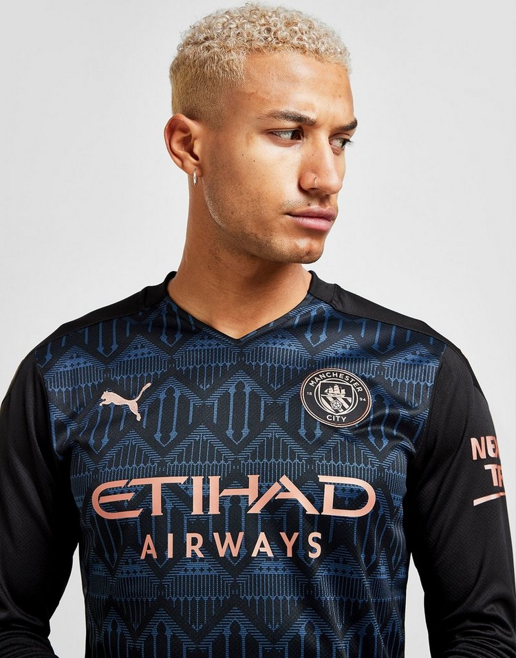 Puma Manchester City FC 2020/21 Long Sleeve Away Shirt