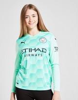 Puma Manchester City FC 20/21 Away Goalkeeper Shirt Jnr