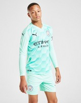 Puma Manchester City 2020/21 Away Goalkeeper Shorts Jnr