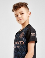 Puma Manchester City FC 2020/21 Away Kit Children