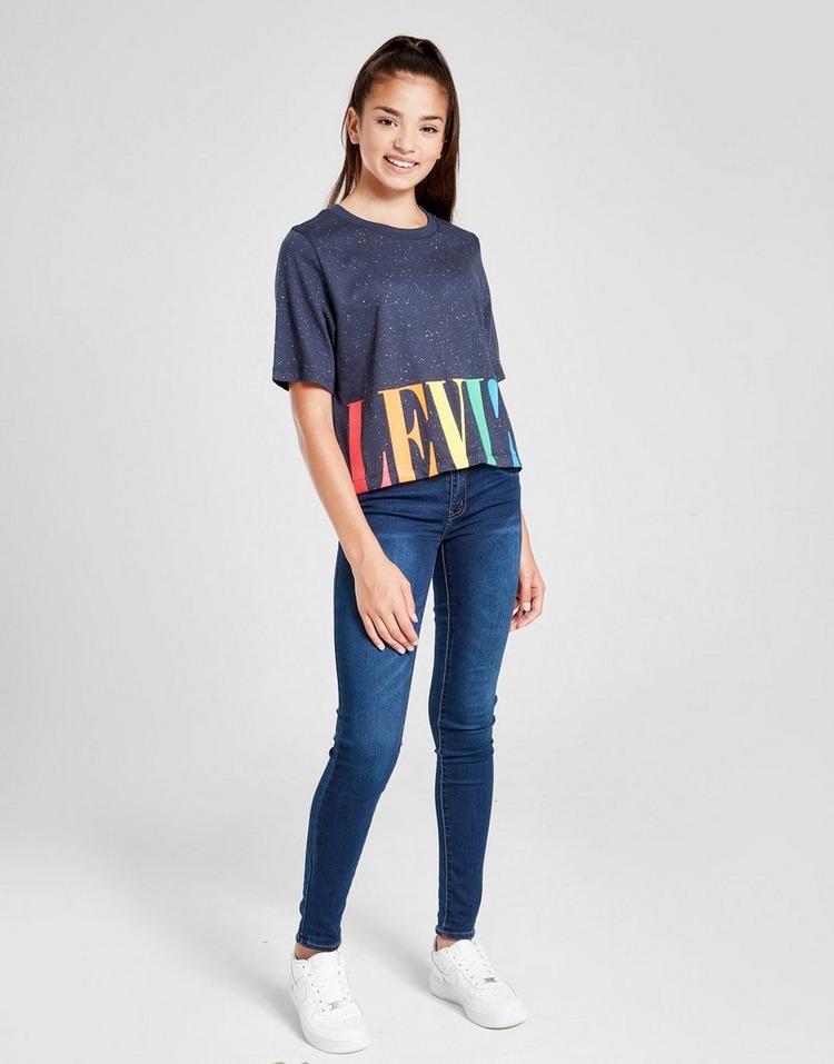 Levis Girls' Varsity Cropped T-Shirt Junior