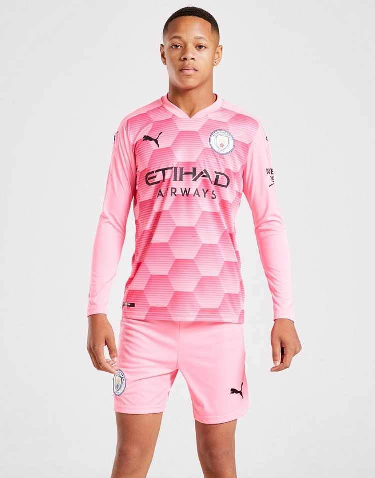 Puma Manchester City 2020/21 Third Goalkeeper Shorts J