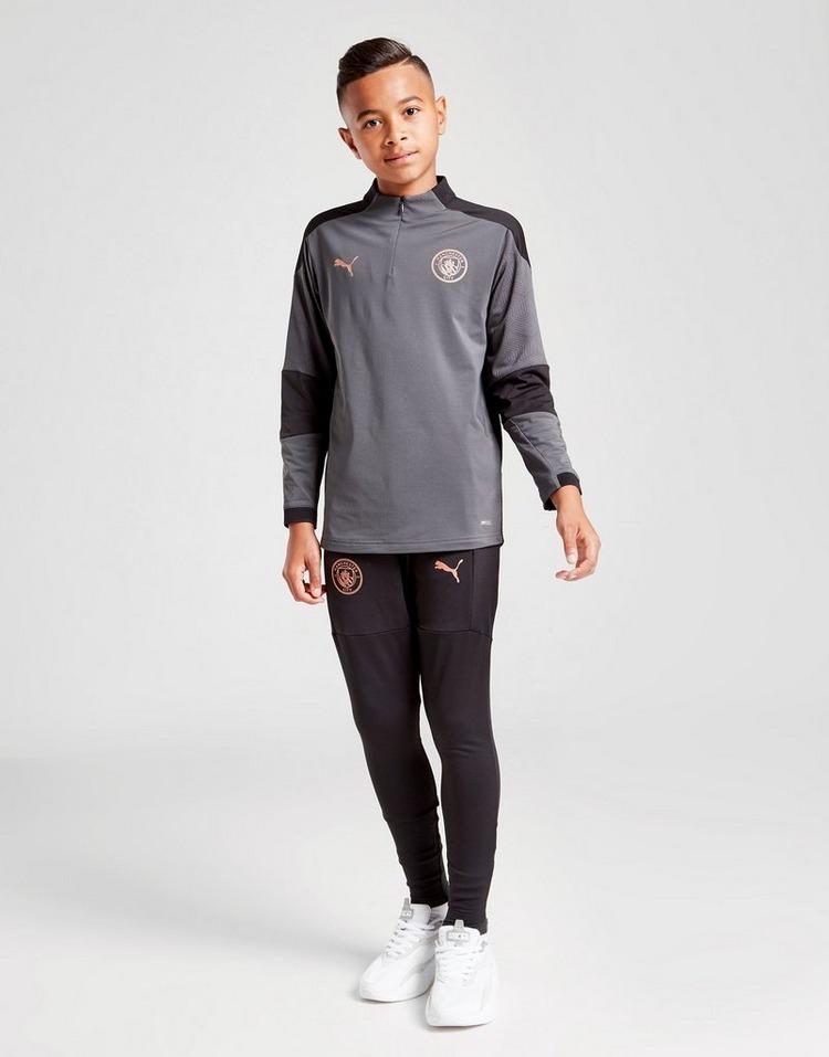 PUMA Manchester City FC 1/4 Zip Training Top Junior